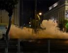 Τραυματισμός αστυνομικού στον Πειραιά κατά τη διάρκεια επεισοδίων στην πορεία για τον Παύλο Φύσσα