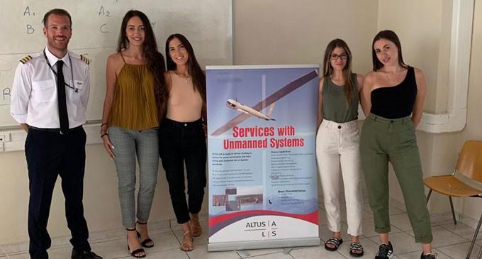 Ένα πρωτοποριακό γεγονός έλαβε χώρα στο Πανεπιστήμιο Πειραιά (Μεταπτυχιακό τμήμα Ναυτιλιακού) – Χρήση των UAV στη ναυτιλία