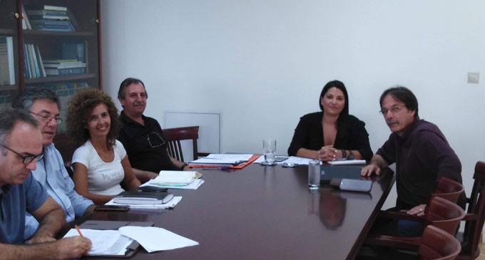 Συνάντηση Χρήστου Βρεττάκου με Σταυρούλα Αντωνάκου