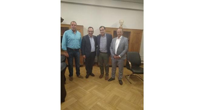 Σύσκεψη Κοντοζαμάνη, Κατσαφάδου & Δημάρχων στο Υπουργείο Υγείας