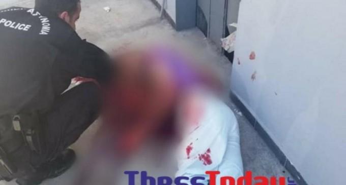 Άνδρας έκοψε το λαιμό του με γυαλί στον Κηφισό – Εικόνες σοκ από το σημείο!
