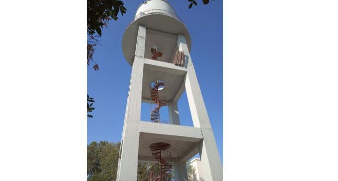 Ολοκληρώθηκαν οι εργασίες επισκευής και συντήρησης στον Yδατόπυργο – Επόμενος στόχος η αξιοποίησή του