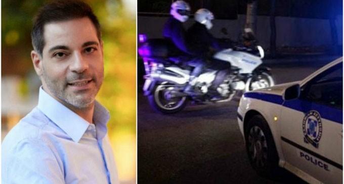 Δωρεά περιπολικού στο αστυνομικό τμήμα Αλίμου, από τον δήμαρχο Ανδρέα Κονδύλη