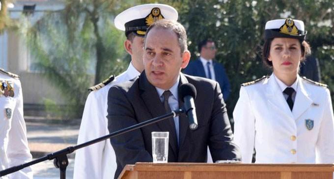 Ομιλία Υπουργού Ναυτιλίας και Νησιωτικής Πολιτικής Γιάννη Πλακιωτάκη κατά την τελετή παράδοσης – παραλαβής Αρχηγείας Λιμενικού Σώματος