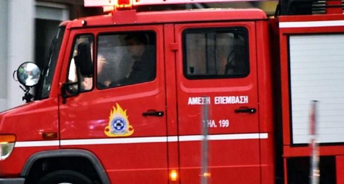 Κινητοποίηση για την Πυρκαγιά στο Νέο Ικόνιο