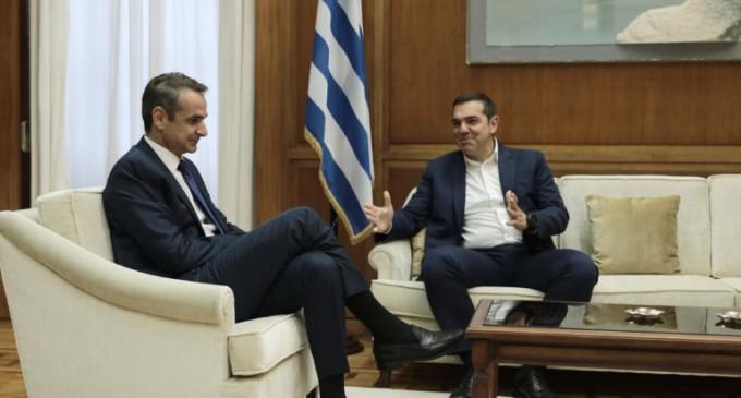 Οι συναντήσεις του Κυριάκου Μητσοτάκη με τους πολιτικούς αρχηγούς για την ψήφο των απόδημων