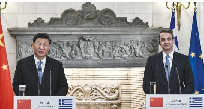 Οι συμφωνίες και οι υπογραφές για τον Πειραιά κατά την επίσκεψη του Κινέζου Προέδρου στην Αθήνα