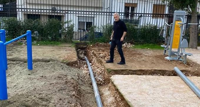 Αυτοψία Δημάρχου Πειραιά Γιάννη Μώραλη και στις πέντε δημοτικές κοινότητες για τα έργα που είναι σε εξέλιξη