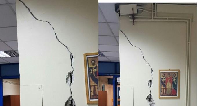 Εικόνες ΣΟΚ μέσα από το Κρατικό της Νίκαιας -Ραγισμένοι τοίχοι: Ζητείται παρέμβαση Υπουργού ! Καταγγελία αναγνώστη της ΚΟΙΝΩΝΙΚΗΣ (ΦΩΤΟ)