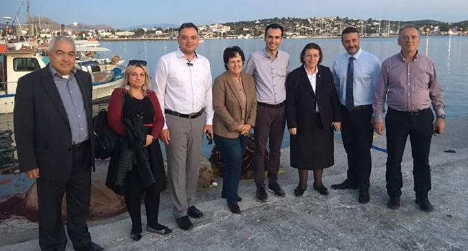 Επίσκεψη Υπουργού Πολιτισμού κας Λίνας Μενδώνη στη Σαλαμίνα