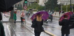 Καιρός: Ο «Ετεοκλής» φέρνει καταιγίδες, χαλάζι και 9 μποφόρ