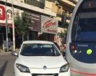 ΑΠΟΚΛΕΙΣΤΙΚΟ: Νέα σύγκρουση αυτοκινήτου με ΤΡΑΜ στον Πειραιά (φωτο)