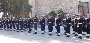 Παράδοση παραλαβή αρχηγού Πολεμικού Ναυτικού (ΦΩΤΟ)
