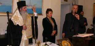 Ο Γιάννης Μώραλης στην ετήσια εκδήλωση του Ναυτικού Μουσείου Ελλάδος