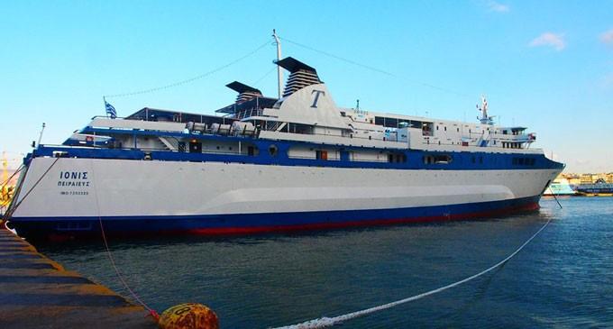 Τρόμος εν πλω για 103 άτομα – Μηχανική βλάβη παρουσίασε το πλοίο «Ιονίς»- Επιστρέφει στον Πειραιά