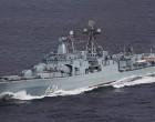 Ρωσικό αντιτορπιλικό «δένει» στο λιμάνι του Πειραιά