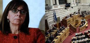 Ξεκίνησε η εκλογή Σακελλαροπούλου στο αξίωμα της Προέδρου της Δημοκρατίας