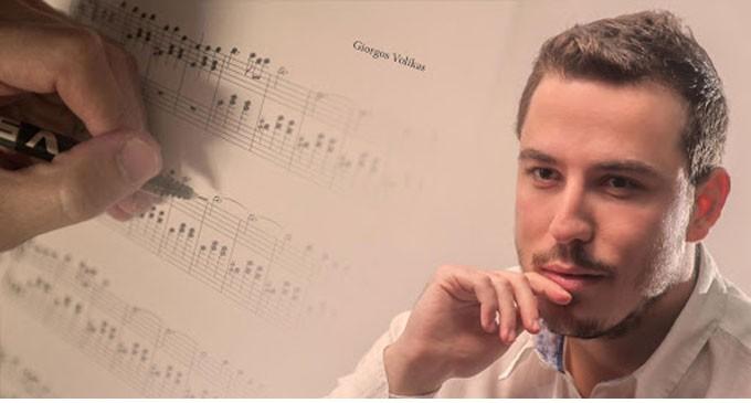 """Συναυλία του μουσικοσυνθέτη Γιώργου Βολίκα, στην Ελληνογαλλική Σχολή Πειραιά """"Saint-Paul"""""""