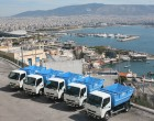 Ενισχύεται με 5 νέα οχήματα ο τομέας καθαριότητας του Πειραιά