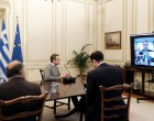 Τηλεδιάσκεψη υπό τον Μητσοτάκη στον Έβρο: «Η μάχη συνεχίζεται, απόλυτα προστατευμένα τα σύνορά μας»