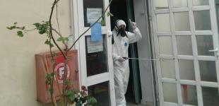 Απολύμανση πραγματοποιήθηκε στην Τροχαία Πειραιά (φωτο)