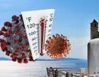 Επίπεδα καλοκαιριού Ελλάδας: Πώς αντέδρασε ο κορωνοϊός σε 6 χώρες με θερμοκρασία άνω των 27°C