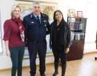 Εθιμοτυπική επίσκεψη Ταξίαρχου ΕΛ.ΑΣ. στην Αντιπεριφερειάρχη Πειραιά