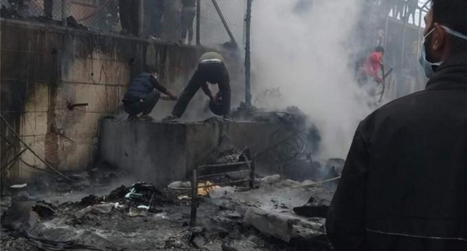 Μόρια: Νεκρό παιδί από τη μεγάλη φωτιά μέσα στο Κέντρο Υποδοχής και Ταυτοποίησης