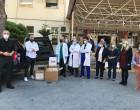 Ο Δήμαρχος Πειραιά Γιάννης Μώραλης παρέδωσε υγειονομικό υλικό στο Τζάνειο νοσοκομείο