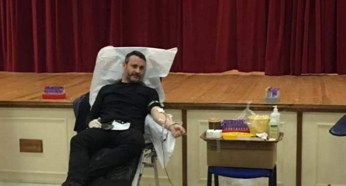 Εθελοντική αιμοδοσία στη Σαλαμίνα