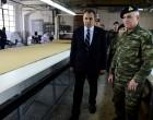 Το Στρατιωτικό Εργοστάσιο στον Πειραιά επισκέφθηκε ο Ν. Παναγιωτόπουλος
