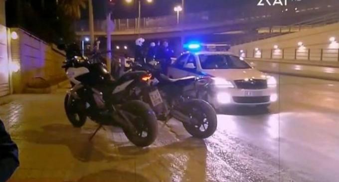 Καταδρομική επίθεση με μολότοφ στον ΣΚΑΪ τα ξημερώματα (βίντεο)