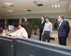 Επίσκεψη Κώστα Καραμανλή και Γιάννη Κεφαλογιάννη στο Κέντρο Ελέγχου Λειτουργίας του Μετρό στο Σύνταγμα