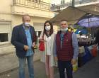 Έλεγχοι στις λαϊκές αγορές του Πειραιά από Γρ.Καψοκόλη, Στ.Μελά, Κ.Μπουρδάκου (φωτο)