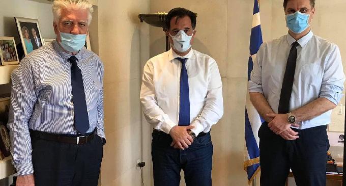 Βασίλης Ζορμπάς: Συνάντηση με τον Υπουργό Ανάπτυξης Άδωνι Γεωργιάδη