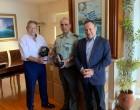 Νικόλαος Μανωλάκος: Δωρεά προσωπίδων στο Δ΄ Σώμα Στρατού στον Έβρο