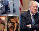 «Φλέγεται» η Μινεάπολη: Έστειλε την Εθνική Φρουρά ο Τραμπ – «Όποιος λεηλατεί, θα πυροβολείται»