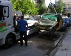 Απομάκρυνση εγκαταλελειμμένων αυτοκινήτων στο Αιγάλεω