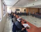 Σύσκεψη στον Δήμο Μοσχάτου-Ταύρου για τη συνέχιση των δράσεων κατά της πανδημίας του κορωνοϊού και για την επαναλειτουργία των σχολείων