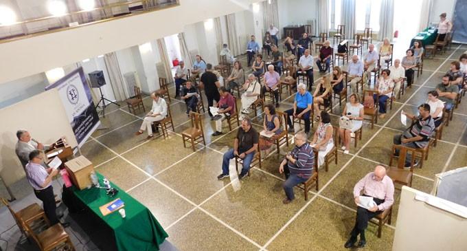 Εκλογοαπολογιστική συνέλευση Φιλολογικής Στέγης Πειραιά