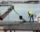 Εργασίες κατεδάφισης αυθαίρετων κατασκευών στο πλαίσιο της ανάπλασης του Μικρολίμανου