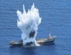Πολεμικό Ναυτικό: Εντυπωσιακά βίντεο από την άσκηση με πραγματικά πυρά ανοικτά της Καρπάθου – «Βυθίσατε τον Έβρο»