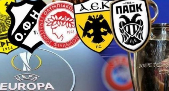 Μονοί αγώνες στα προκριματικά Champions και Europa League