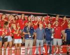 Ολυμπιακός: Φιέστα τίτλου στο Καραϊσκάκη για τις ομάδες Πόλο