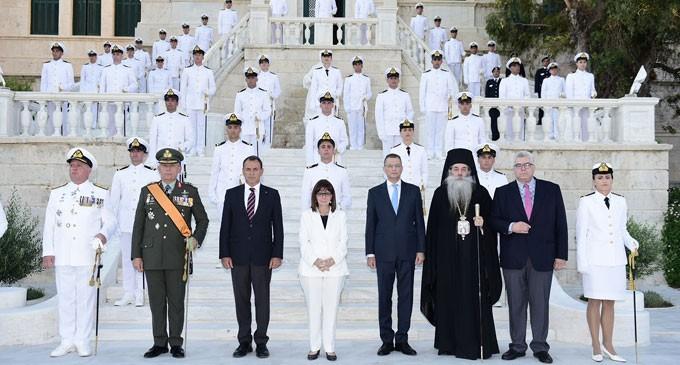 Ορκωμοσία Σημαιοφόρων Πολεμικού Ναυτικού παρουσία της Προέδρου της Δημοκρατίας