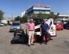 Ξεκίνησε η παραλαβή των νέων οχημάτων του Δήμου Μοσχάτου-Ταύρου