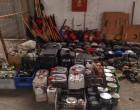 Φωτογραφίες από την αστυνομική επιχείρηση στο υπό κατάληψη κτίριο του ΑΠΘ – Όλα όσα βρέθηκαν
