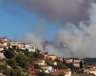 Φωτιά στη Μάνη: Διάσπαρτες οι εστίες – Κρίσιμες οι επόμενες ώρες