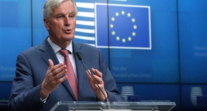 Μ.Μπαρνιέ- Brexit: Είμαι αποφασισμένος για την επίτευξη συμφωνίας