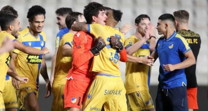 ΑΠΟΕΛ – Ουζουνίδης: ««Αυτό το ματς είναι ένα μάθημα για εμάς»
